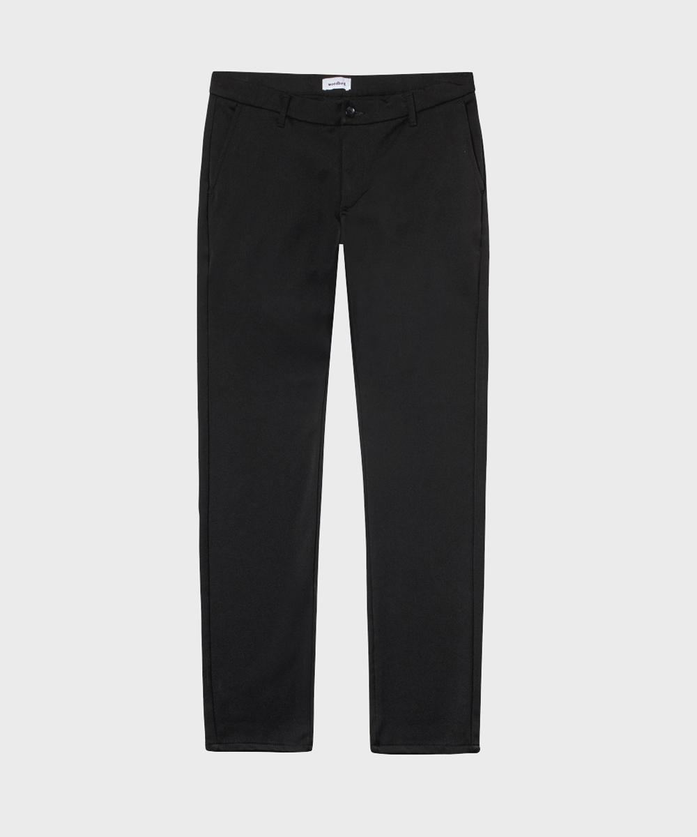 Woodbird Pants Black